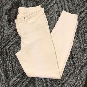 """JCrew 9"""" High-Rise Toothpick Jeans"""